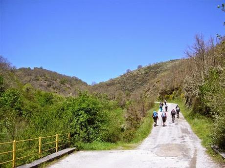 ruta del camino de Santiago de Compostela