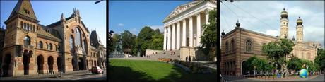 tus guias de viaje - budapest - mercado central - museo nacional de hungría - sinagoga judía