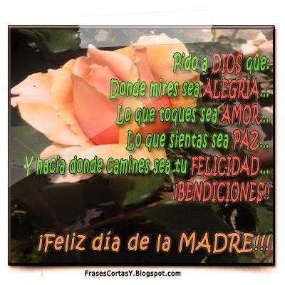 Feliz Dia De La Madre Frases Cortas Para Mama Paperblog