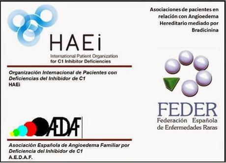 Imagem não têm Respeito Diz paciente à bradicinina mediada HAE (eu incluíndo deficiência em C1-inibidor).