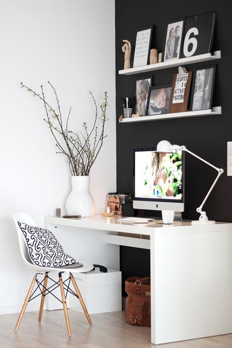 La oficina n rdica en casa paperblog for Articulos para decoracion de interiores