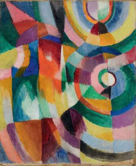 'Electric Prisms', 1913. Sonia Delaunay.