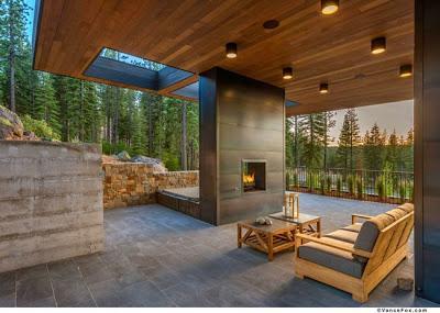 Cabana moderna de madera paperblog - Cabanas modernas ...