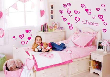 3 Ideas para decorar dormitorio niña + Video - Paperblog