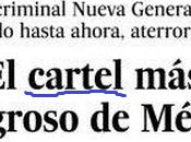 cartel cártel peligroso México