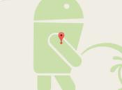 Difunden imagen Android orinando Apple Google Maps