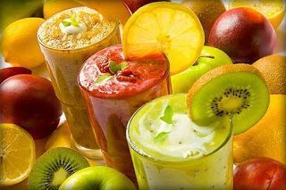 batido de frutas y verduras