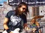 Concierto sorpresa Fighters Chevy Metal) versiones AC/DC, Halen, Bryan Adams...