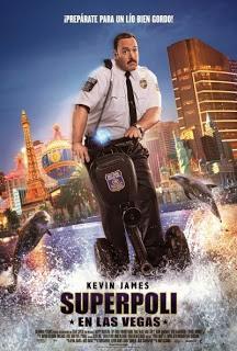 Póster: Superpoli en Las Vegas (2015)