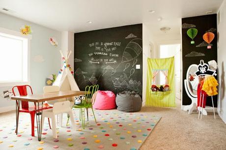 Como montar UN CUARTO DE JUEGOS para niños lleno de COLOR! - Paperblog