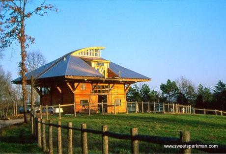 Casas rurales con encanto tipo granero en estados unidos - Casa rural de madera ...