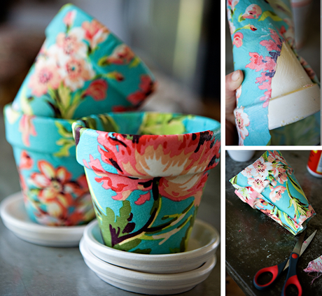 8 ideas para decorar macetas paperblog - Como decorar macetas de barro ...