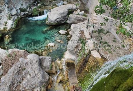 Las fuentes del algar las piscinas naturales del interior for Piscinas naturales alicante