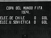 Chile URSS, 1973. cara negra fútbol