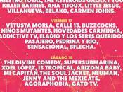 PortAmérica 2015 suma Vetusta Morla, Molotov, Gorillaz Set), Calle 13...