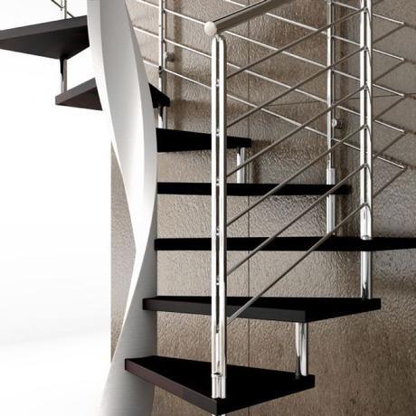 Escaleras helicoidales qu las diferencia de las for Escaleras helicoidales