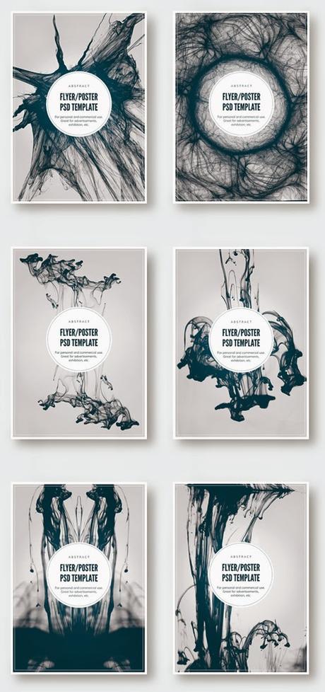 15 flyers gratis y editables en formato psd paperblog