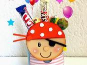 Dulcero pirata para fiesta cumpleaños