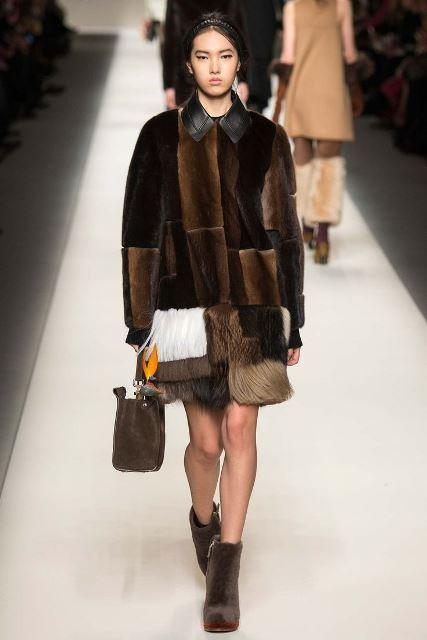 patchwork Fendi Fall 2015