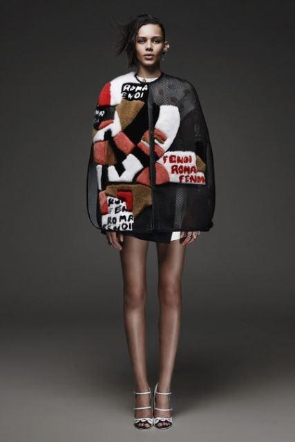 Patchwork fendi