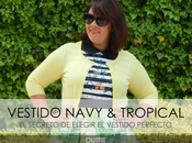 Vestido Navy Tropical Outfit
