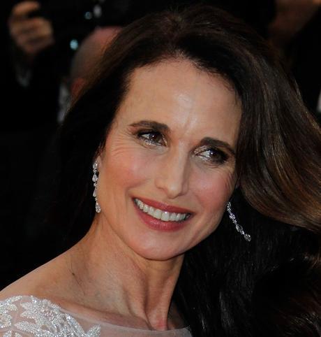 Los mejores looks beauty de Cannes Andie_MacDowell