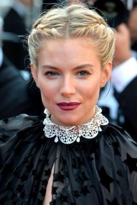 Sienna Miller belleza Cannes