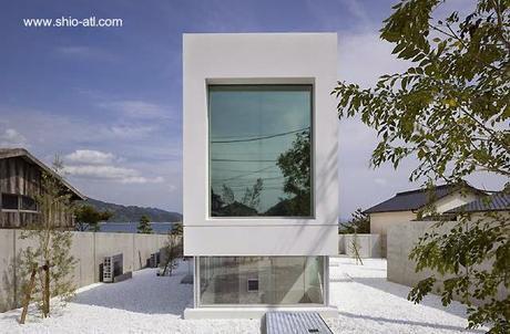 Casa japonesa de fin de semana estilo Minimalista