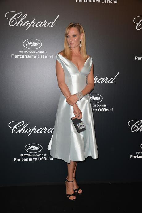 Uma Thurman en Cannes
