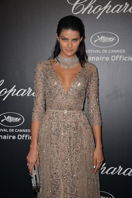 Isabeli Fontana en Cannes