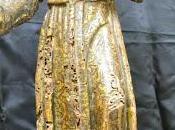 Restauración talla policromada antonio