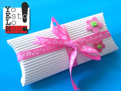 a9f9fcf4a Caja para regalo de papel corrugado - Paperblog