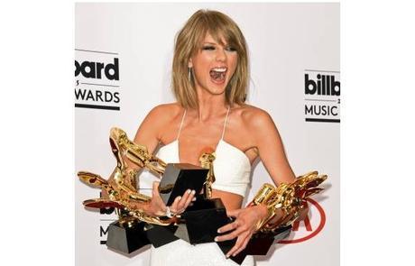 Taylor Swift se convierte en la gran ganadora de los Billboard