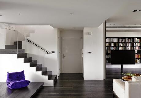 Dise o interior en duplex de taiwan paperblog - Duplex de diseno ...