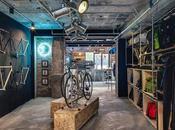 Factory Five Jing'an, boutique, taller bicicletas cafetería puro estilo urbano