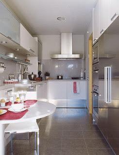 Cocinas largas y estrechas paperblog for Cocinas largas y estrechas