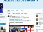 Reacciones incidencia RENFE ¿candidatos preocupados Barcelona?