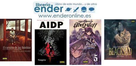 Ender, Novedades de Cómics y Mangas de Norma Editorial Abril 2015