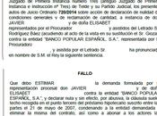 Otra sentencia ganada nuestros abogados eliminando cláusula suelo Banco Popular recuperando cantidades