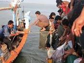 Marina tailandesa empujó vuelta amenazó dispararnos'