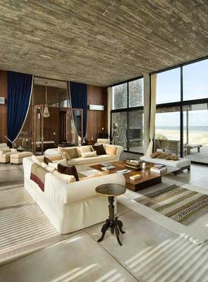 Casa moderna en uruguay paperblog for Casa minimalista uruguay