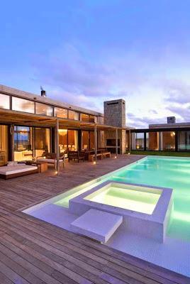 Casa moderna en uruguay paperblog for Casa minimalista uy