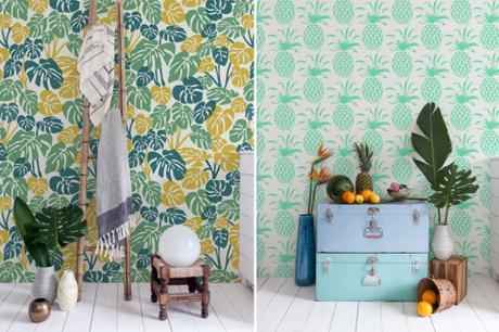 Papeles pintados primaverales paperblog - Papeles pintados sanderson ...