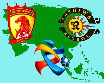 Semifinal de la Liga de Campeones de la AFC entre el Guangzhou Evergrande y el Kashiwa Reysol