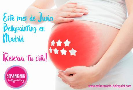 ¡¡Madrid!! ¡Bellypainting en Junio!