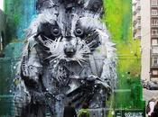 Asombrosos murales objetos encontrados calles Lisboa
