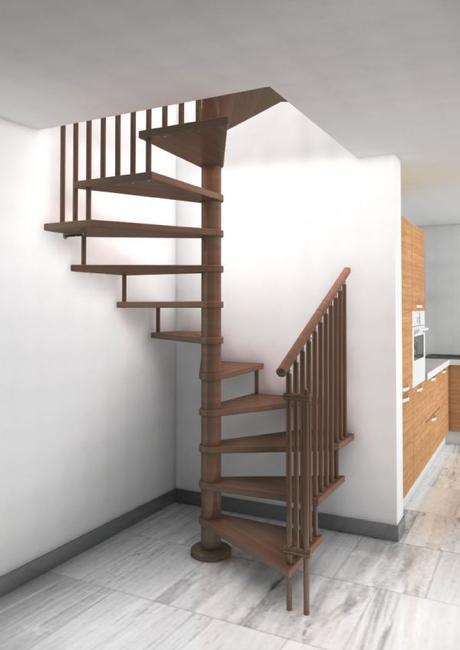 El dise o como forma de entender las escaleras paperblog for Escalera aluminio pequena