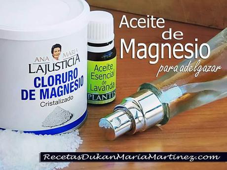 Es verdad que el cloruro de magnesio sirve para adelgazar