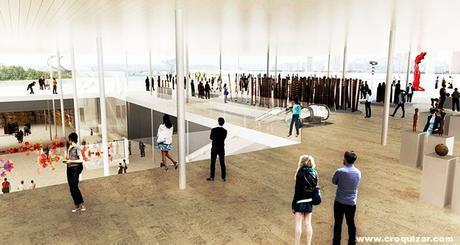 NOT-057-SANAA gana Galería de Arte del concurso de diseño moderno de Sydney NSW-1