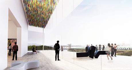 NOT-057-SANAA gana Galería de Arte del concurso de diseño moderno de Sydney NSW-2